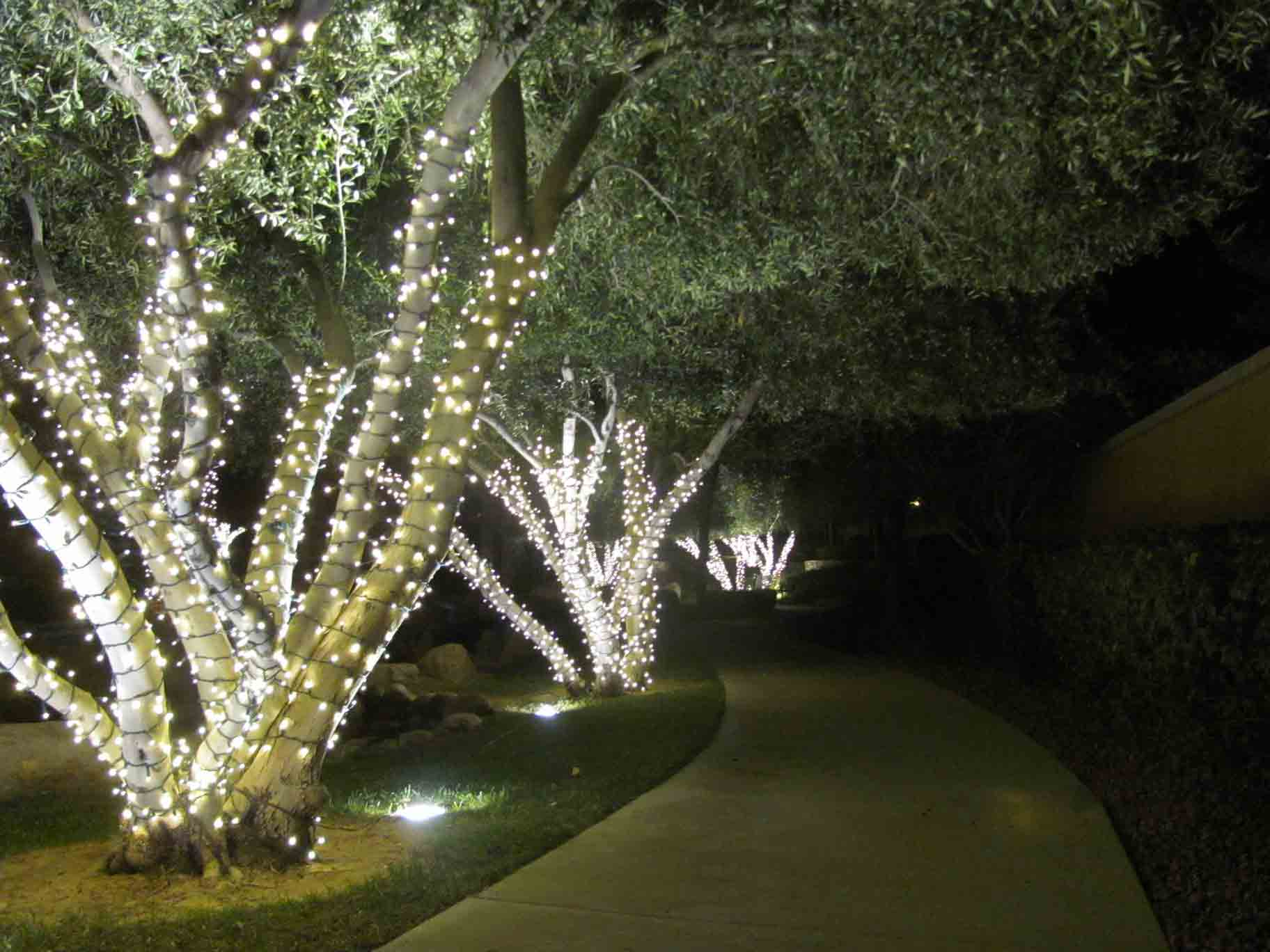 Professional Christmas lighting service by Holiday Decorations in Las Vegas