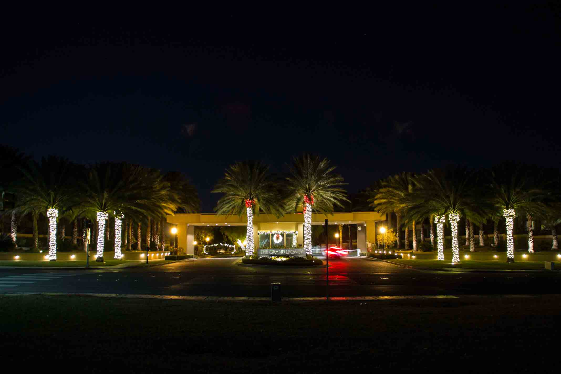 Community LED Christmas lighting rental by Holiday Decorations in Las Vegas