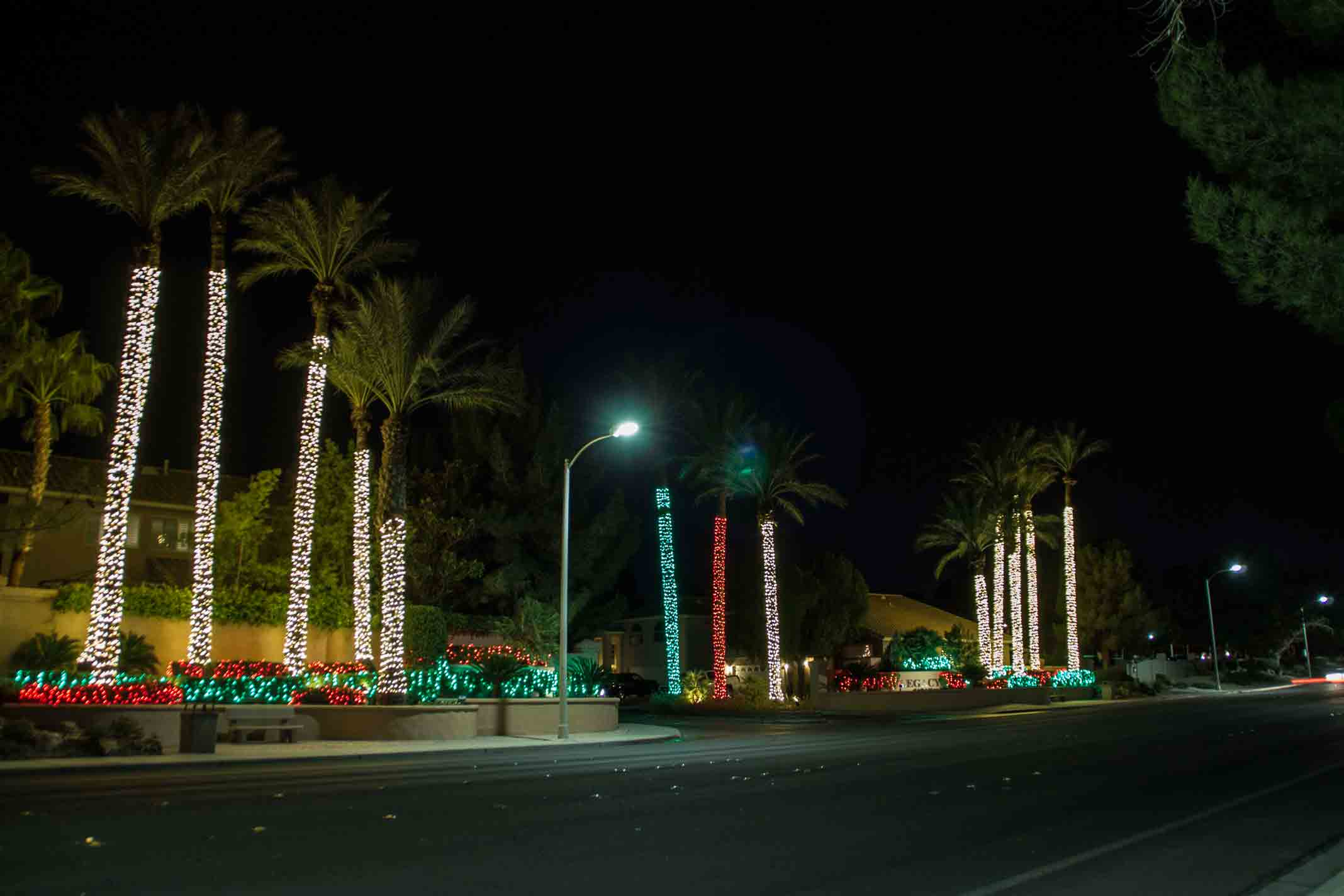 Henderson Christmas lighting service by Holiday Decorations in Las Vegas