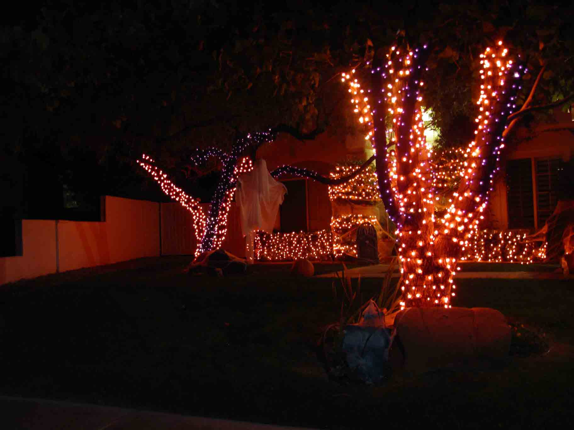 Halloween lighting service by Holiday Decorations in Las Vegas