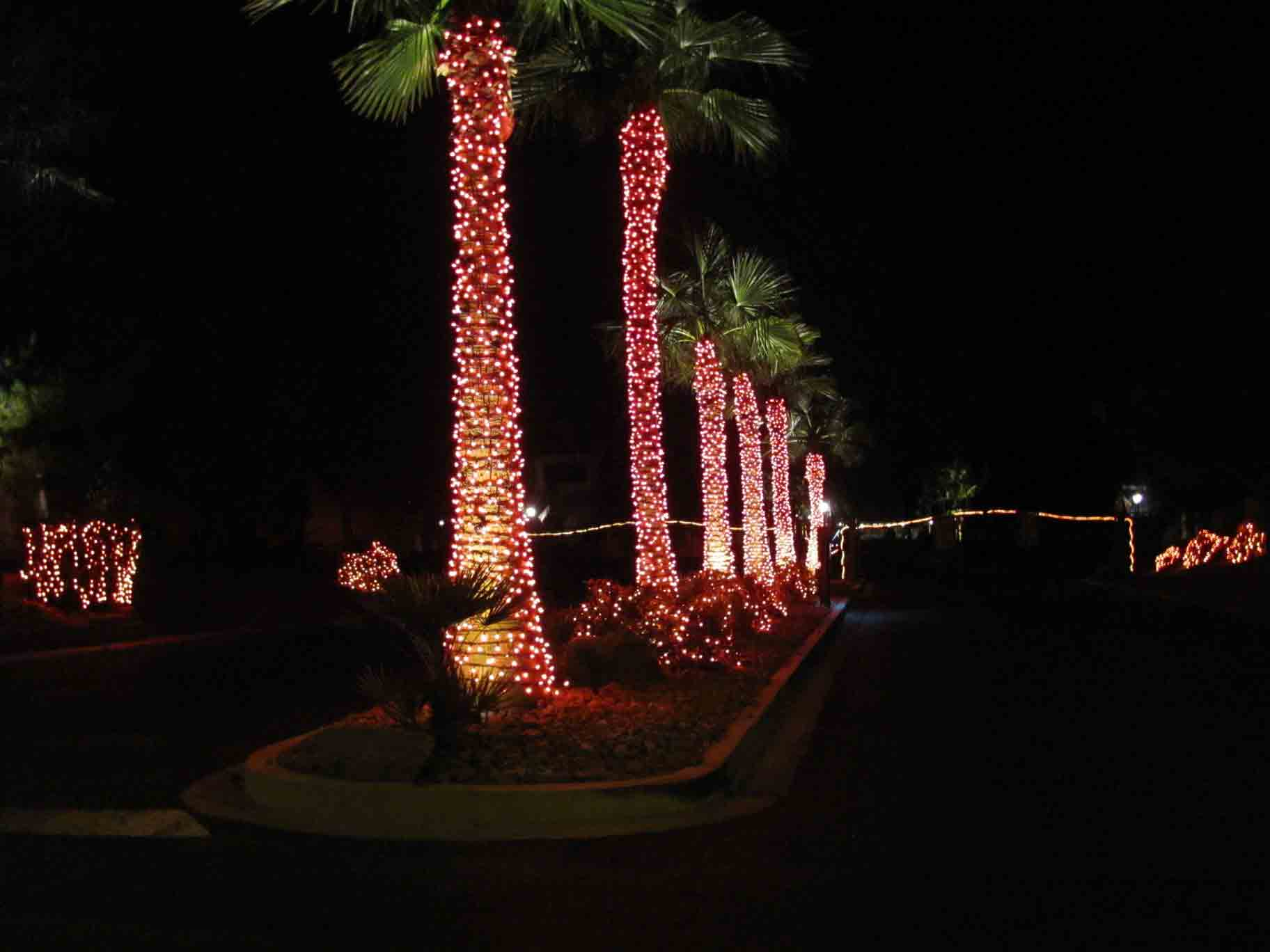 Halloween light rental by Holiday Decorations in Las Vegas