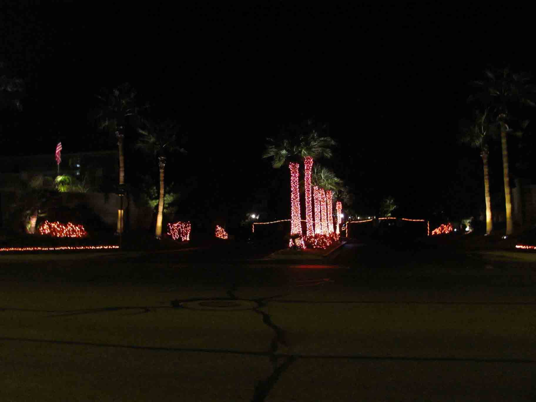Halloween community lighting service by Holiday Decorations in Las Vegas