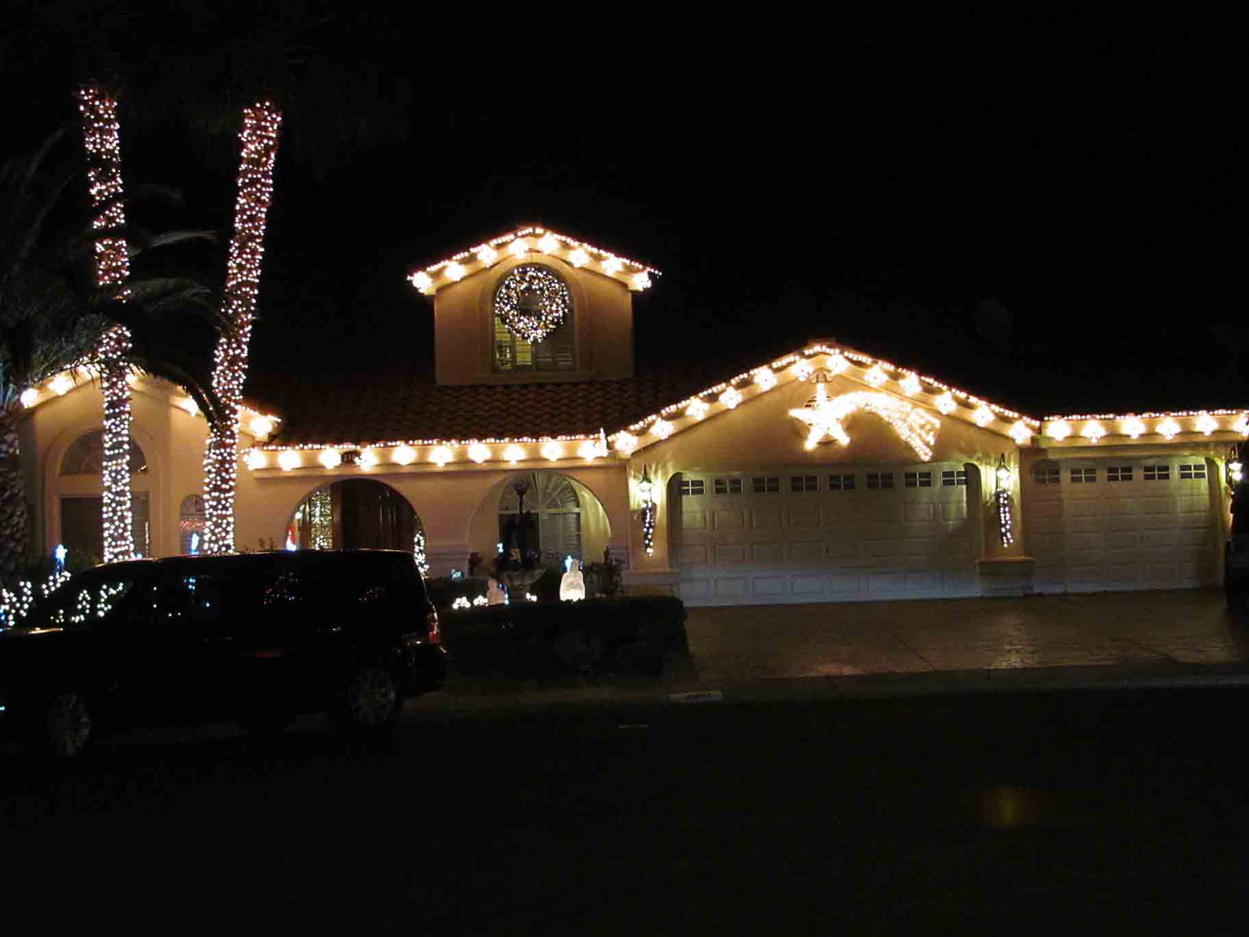 Residential Holiday Lights by Holiday Decorations in Las Vegas