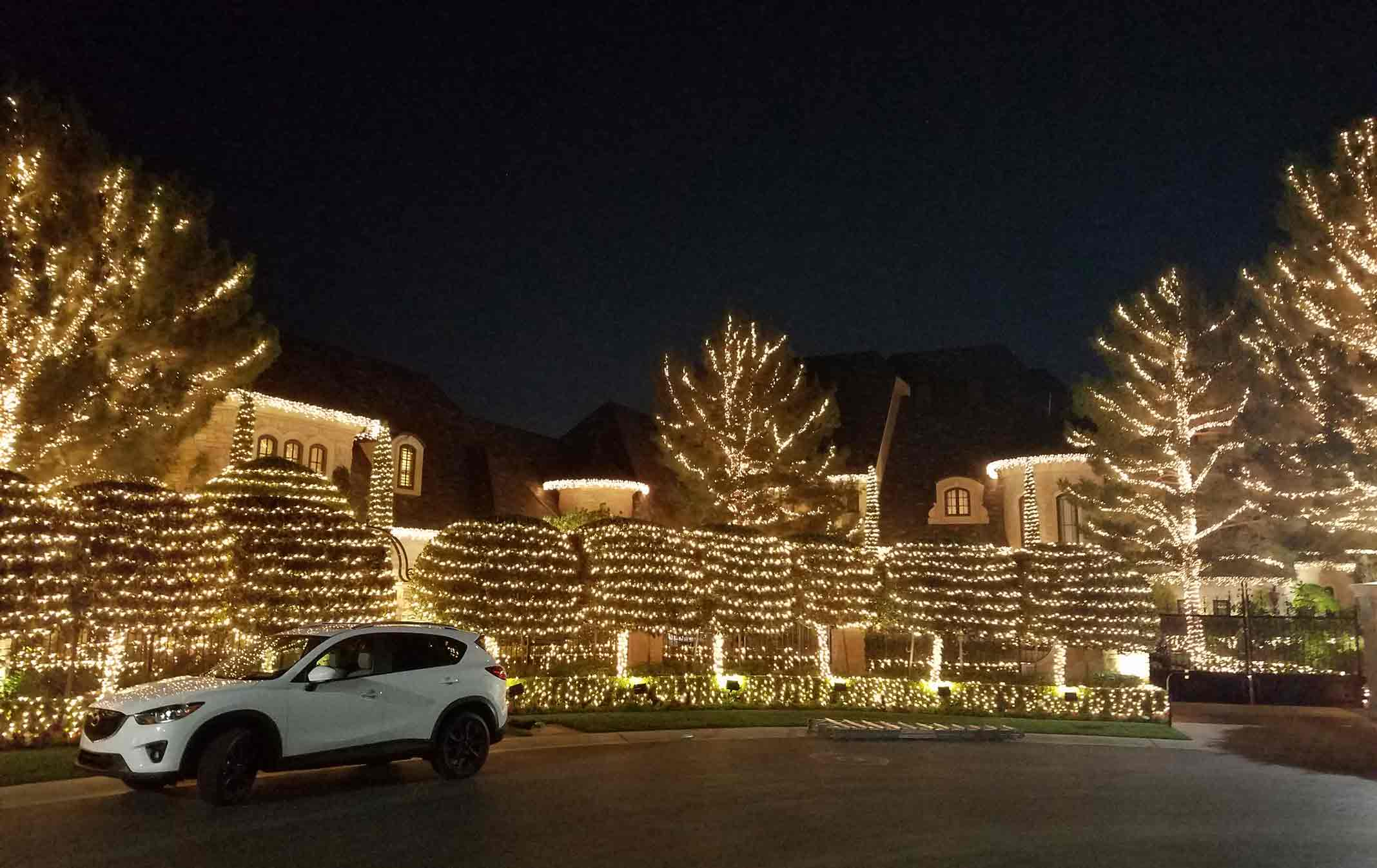 Christmas Lighting Rental Las Vegas