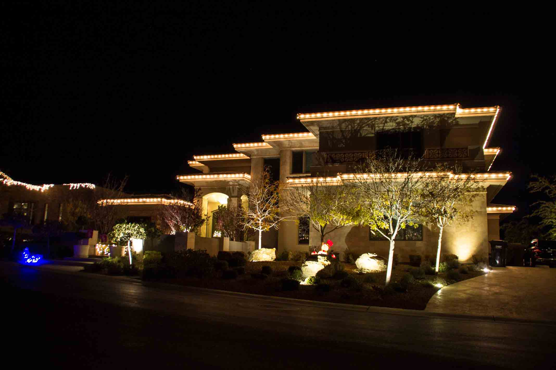 C-9 Christmas lights by Holiday Decorations in Las Vegas